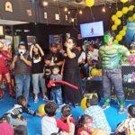 Para Superhero Datangi Perayaan Ultah di Surabaya