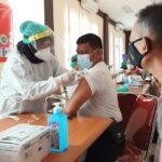 Tak Penuhi Syarat, 30 Anggota Polres Sumenep Gagal Jalani Vaksinasi Covid-19
