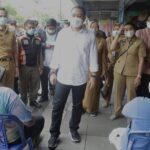 513 Pedagang di Pasar Genteng Surabaya, Terima Vaksinasi Covid-19