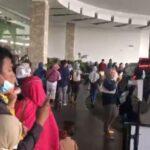 Dampak Gempa Malang, Pengunjung Sunrise Mall Mojokerto Berhamburan