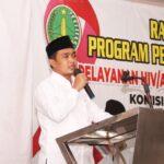 Rakor Pengarusutamaan HIV/AIDS, Wawali Pasuruan Ajak Peserta Aktif Cegah HIV/AIDS