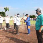 Walikota Pasuruan Jadi Pembina Apel Pencanangan Laskar Sapu Bersih dan Gerakan Tanam Pohon