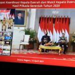 Jokowi Dorong Kepala Daerah Punya Inovasi dan Skala Prioritas dalam Membuat Kebijakan