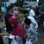 Ramadan di Tengah Pandemi, FRMJ dan Projo Jombang Berbagi dengan Anak Yatim