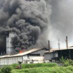 Pabrik Agrofood Makmur Mandiri Mojokerto Terbakar, Warga Rasakan Getaran