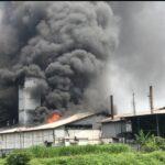 Penyebab Kebakaran Pabrik Tepung di Mojokerto Belum Diketahui