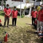 Peringati Hari K3 Se-Dunia, RSUD Moh. Anwar Sumenep Bekali Petugas Kebersihan dan Sekuriti Kesiapsiagaan Antisipasi Kebakaran