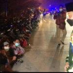 Ratusan Pemotor di Mojokerto Terjaring Razia Balap Liar