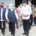 Jelang Ramadan, Gubernur Jatim Cek Harga Beras di Lamongan