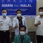 Wabup Blitar Pantau Vaksinasi Covid-19 Pada Lansia di Srengat