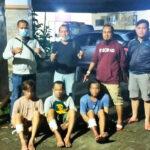 Aksi Terekam CCTV, Tiga Residivis di Surabaya Ditembak Polisi