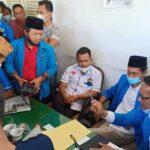 Massa Geruduk Pendopo Tuding Pelantikan KNPI Pamekasan Langgar AD/ART