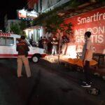 Warga Jalan Mastrip Kota Blitar Digegerkan Penemuan Mayat di Trotoar