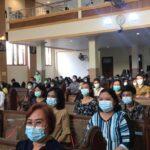 Jumat Agung, Umat Kristiani di Mojokerto Jalankan Misa di Gereja dengan Waswas