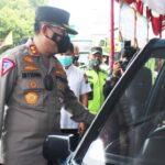 Kakorlantas Pantau Kesiapan Pos Pengamanan Mudik di Tol Ngawi