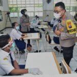Beri Materi Simulasi Sekolah Tatap Muka, Ini Pesan-pesan Kapolrestabes Surabaya