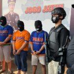 15 Kali Beraksi di Jatim, Komplotan Pencuri Modus Pecah Kaca Ditangkap Polisi