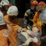 Ruko Tiga Lantai di Surabaya Terbakar, Satu Orang Tewas Saat Dibawa ke RS