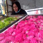 Musim Nyekar, Harga Bunga Mawar di Jombang Ikut Mekar, Rp 4 Ribu Per Tangkai