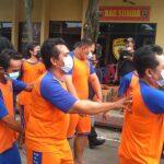 Jelang Ramadan, Polres Jombang 'Panen' Preman