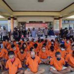 Jelang Ramadan, Polresta Banyuwangi Amankan 220 Preman