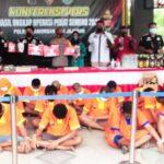 Sepekan Jelang Ramadan, 280 Pelanggar Hukum di Lamongan Diamankan