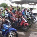 Air Meluap, Perahu Tambang Sungai Brantas di Megaluh Jombang Berhenti Operasi