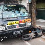Pikap Cium Pantat Mio di Tulungagung, Pengendara Motor Tewas di Tempat