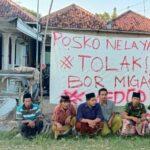 Tolak Rencana Pengeboran Migas, Pemuda dan Nelayan Desa Tanjung Pamekasan Dirikan Posko