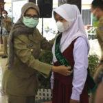 Jamin PTM Tetap Patuhi Prokes, Pemkab Blitar Launching Satgas Cilik Covid-19