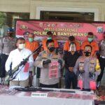 Polresta Banyuwangi Bongkar Jaringan Senjata Ilegal, Empat Orang Jadi Tersangka