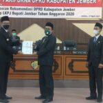 Soroti LKPj Bupati 2020, DPRD Jember Beri Rapor Merah