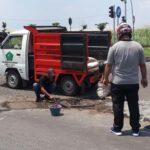 Jalan Berlubang di Tambaksumur Sidoarjo yang Renggut Nyawa Akhirnya Ditambal