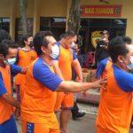 Operasi Pekat Polres Jombang, Mayoritas Tersangka adalah Bandar dan Pengedar Narkoba