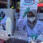 Sidak Pasar Takjil, Pemkot Blitar Temukan Sejumlah Mamin Mengandung Zat Berbahaya