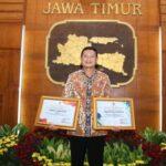 PWI Jatim Award 2021, Yuhronur Efendi Dinobatkan Sebagai Tokoh Olahraga Terbaik