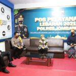 Bupati Jombang Bersama Forkopimda Cek Pos Pantau Pengamanan Lebaran