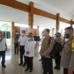 Kunjungi Bupati Blitar, BNPB Pusat Apresiasi Penanganan Covid-19