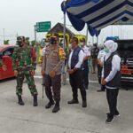 Forkopimda Jatim Tinjau Exit Tol Ngawi, Kapolda: Masyarakat Sudah Patuh