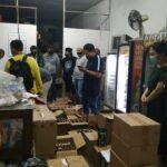 Toko Kelontong Penjual Miras di Kaliwates Jember Digerebek Polisi
