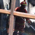 Mengecas HP Ditinggal Berlebaran, Rumah di Wuluhan Jember Ludes Terbakar