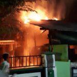 Bensin Tumpah di Depan Tungku, Toko Kelontong di Situbondo Ludes Terbakar