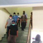 Tim Bareskrim Polri Sita Berkas dari Ruangan BKD Nganjuk