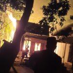 Lupa Matikan Kompor, Rumah di Situbondo Ludes Terbakar