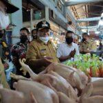 Sidak Pasar, Bupati Jember Akui Daya Beli Masyarakat Rendah