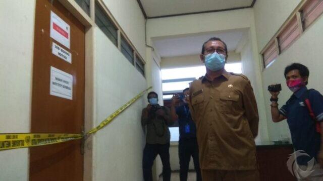 Ruangan BKD Pemkab Nganjuk Disegel Bareskrim, Pegawai Tetap Kerja