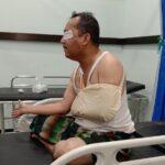 Ditabrak Mobil Damkar, Kepala DLH Situbondo Terkapar
