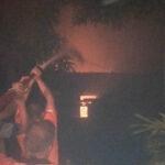 Ditinggal Bukber ke Surabaya, Rumah Warga di Mojokerto Terbakar
