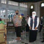 Gubernur Jatim Cek Kesiapan Prokes Masjid Al-Akbar Surabaya untuk Salat Idul Fitri