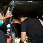 Travel Gelap Terciduk Bawa Pemudik di Jalur Tol Mojokerto-Jombang